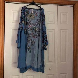 Free People Tops - Free People Don't Know Kimono